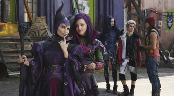 First Look At Kristin Chenoweth's Maleficent From The Descendants