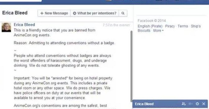 Ryan Kopf's AnimeCon.org Sends Weird, Overreaching Statement To Banned Attendee