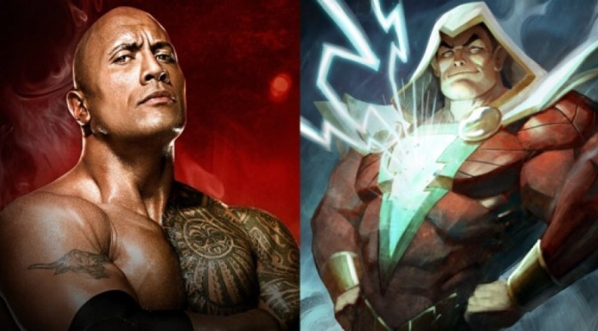"Dwayne ""The Rock"" Johnson likely to play Shazam"