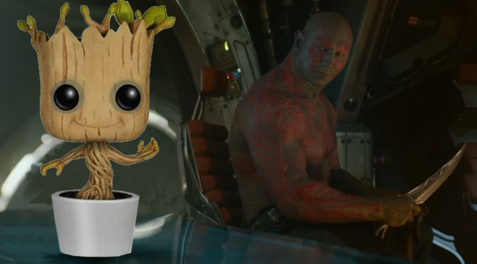 The First Official Dancing Groot Toy