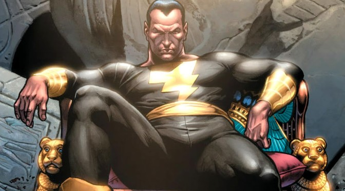 Dwayne Johnson confirmed as Black Adam
