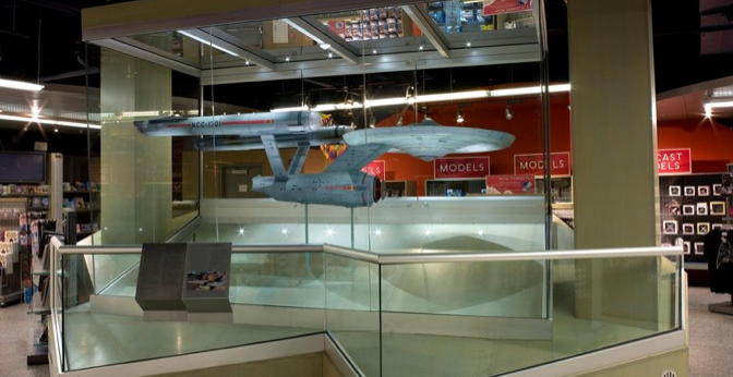 Original USS Enterprise NCC-1701 Model To Be Restored… Again