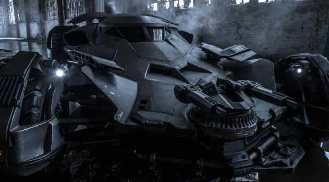Batmobile from 'Batman v. Superman' Officially Revealed