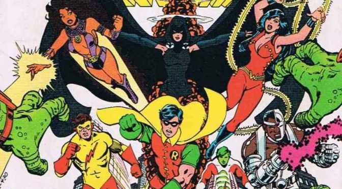 TNT Developing Live Action Teen Titans TV Show