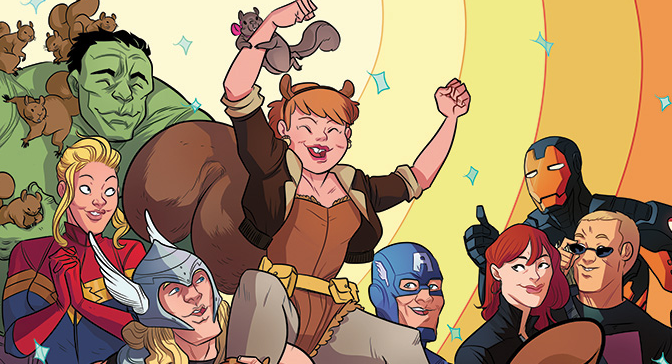 Squirrel Girl Gets an Ongoing Title!