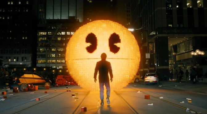 The 'Pixels' Trailer May Actually Get Me To See An Adam Sandler Film