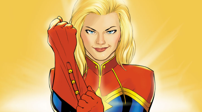 'Captain Marvel' Has Its Writers