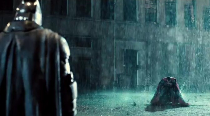 The first 'Batman v Superman' Teaser Trailer Released Early