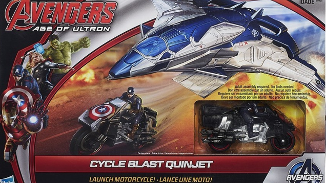 "Black Widow's Coolest ""Age of Ultron"" Moment Turned into a Toy; Black Widow Left Out"