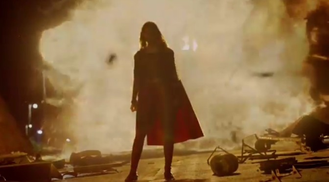 CBS Gives Us the First Look at 'Supergirl'