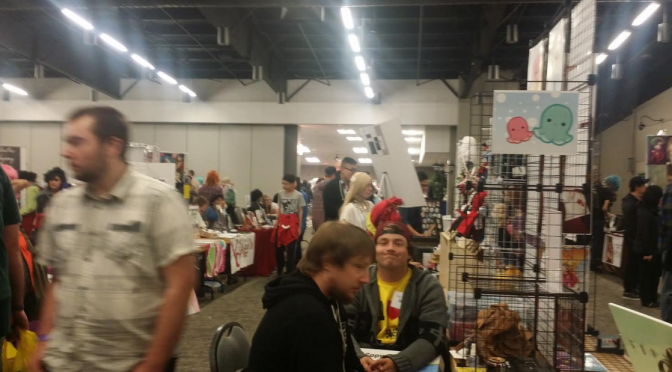 Saskatoon Blitz and How Not to Run an Artist Alley