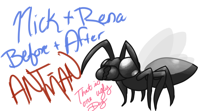 Before and After: Ant-Man