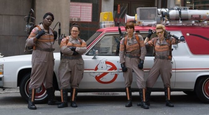 Paul Feig Tweets the Best 'Ghostbusters' Picture Yet