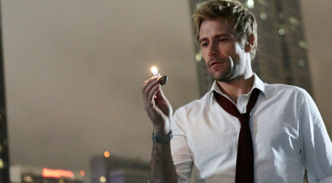 "On ""Legends of Tomorrow"" TV's Constantine Will Finally Be Allowed to Smoke, Be Into Dudes"