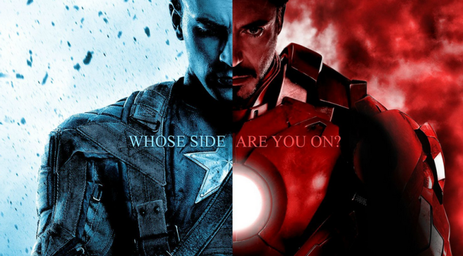 Spoilers: Leaked 'Captain America: Civil War' Art Confirms Who is on What Side