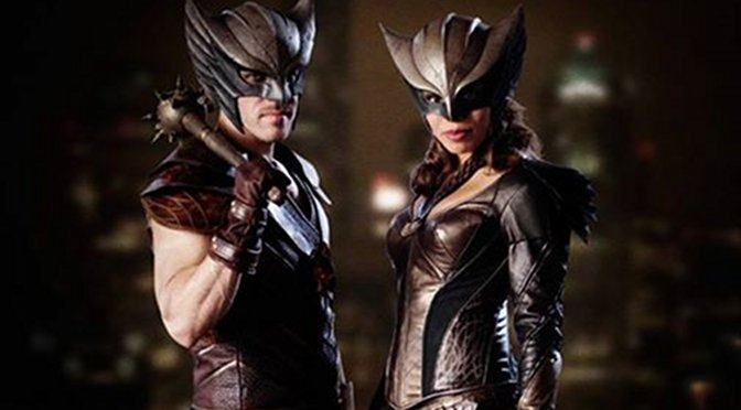 First Look at Hawkman and Hawkgirl's Costumes in 'Legends of Tomorrow'