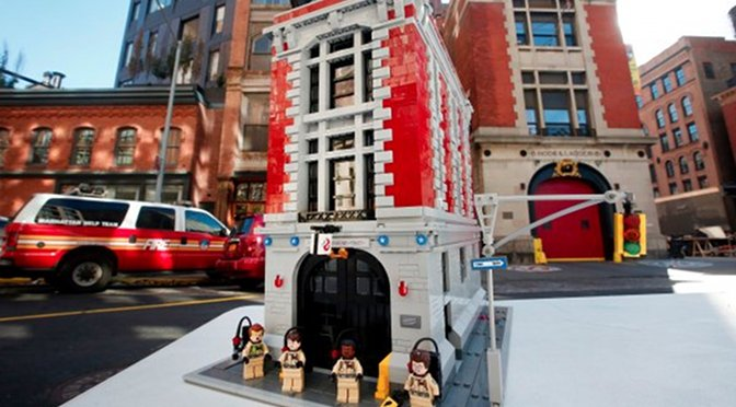 Lego Unveils New 'Ghostbusters' Firehouse Playset