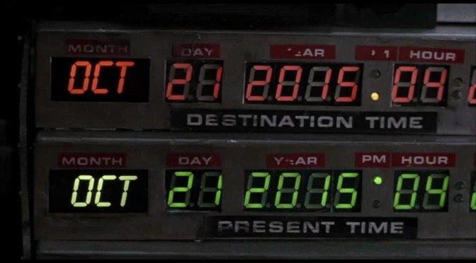 It's Finally 'Back to the Future' Day!