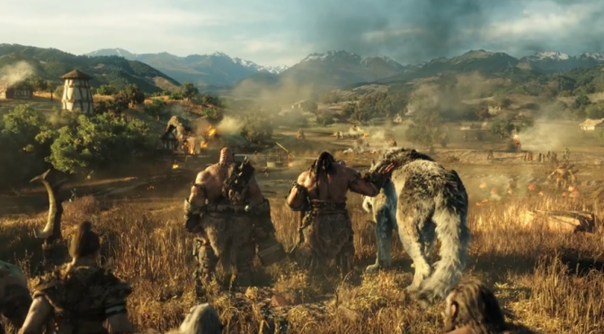 Hey Look, It's a 'Warcraft' Trailer