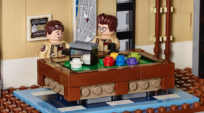 Take a Look Inside that Sweet 'Ghostbusters' Firehouse Lego Set