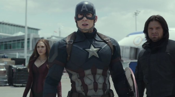 So the 'Captain America: Civil War' Trailer is Finally Here