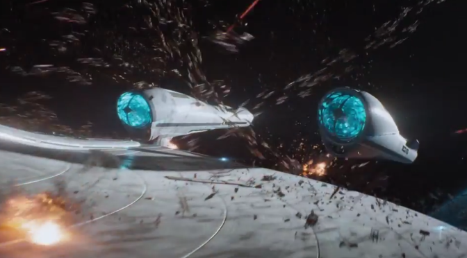 The First 'Star Trek Beyond' Trailer Blows a Lot of Stuff Up