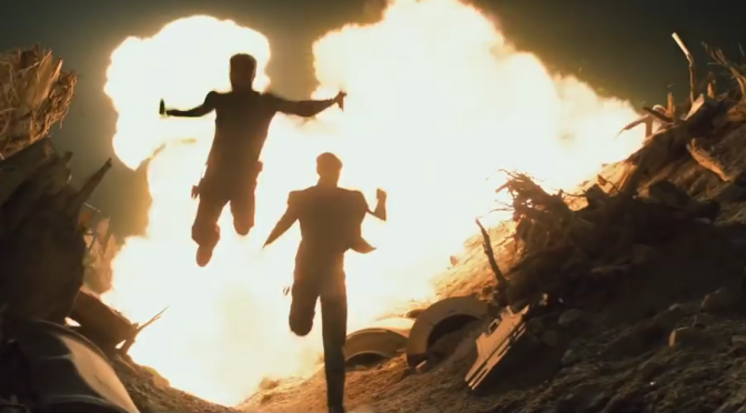 Simon Pegg and Justin Lin Swear 'Star Trek Beyond' Isn't Just Explosions and Bike Jumps