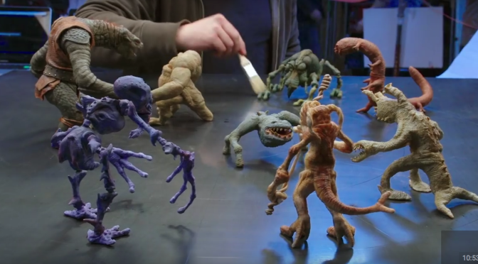 Recreating the Holochess Board for 'Star Wars: The Force Awakens'