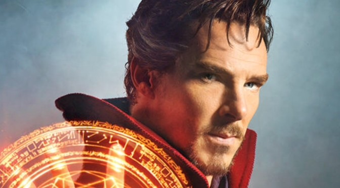 First Official Look at Benedict Cumberbatch as Doctor Strange