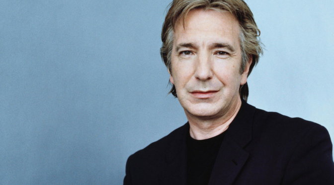 Screen and Stage Legend Alan Rickman Has Died