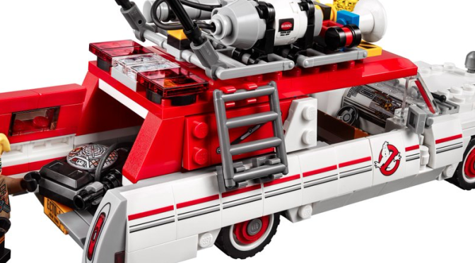 Check Out the New 'Ghostbusters' (2016) Ecto-1 LEGO Set