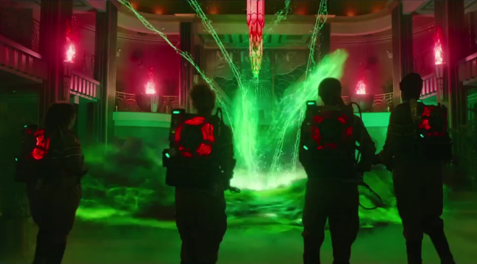 The International 'Ghostbusters' Trailer Gives us Some Chris Hemsworth