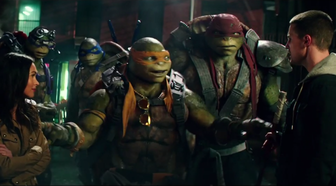 Who Wants a New Trailer for Teenage Mutant Ninja Turtles 2?
