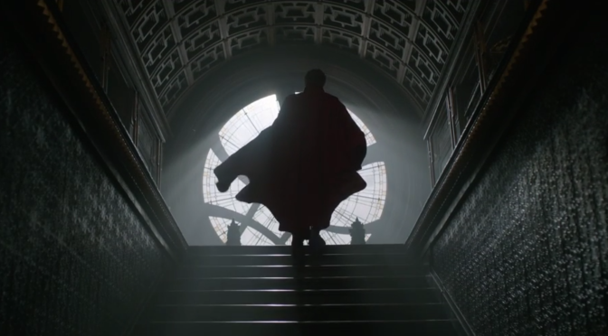 The First 'Doctor Strange' Trailer Has Arrived