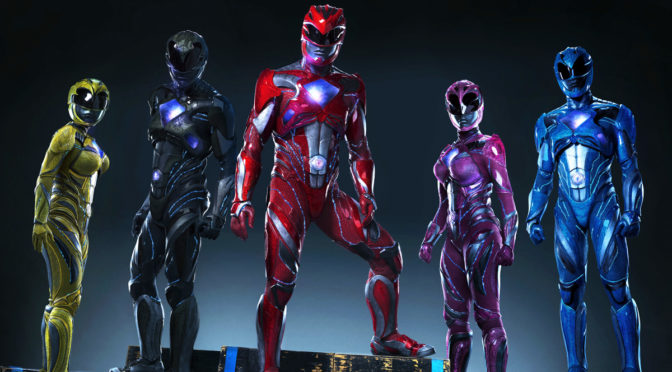 First Look at Rebooted 'Power Rangers' Costumes