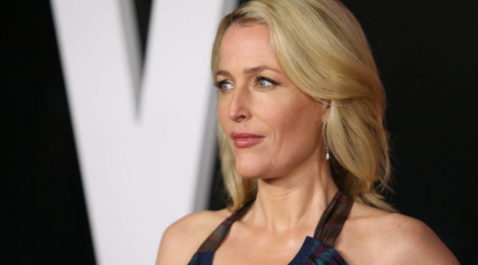 Gillian Anderson Cast as Media in 'American Gods'