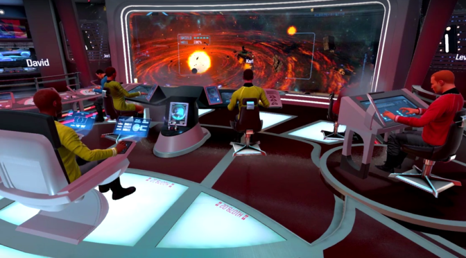 'Star Trek: Bridge Crew' is Like Artemis, Only in VR and With the Actual Trek License