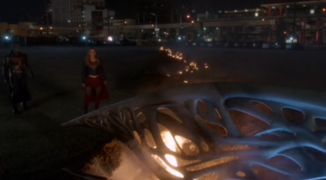So Chris Wood is in Supergirl's Pod, But Who is He Playing?
