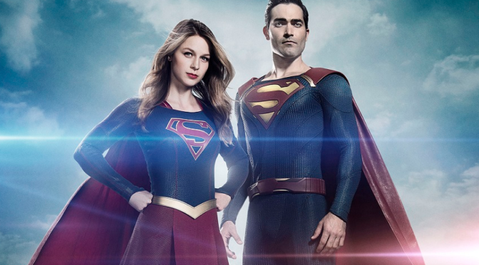 First Look at Tyler Hoechlin as Supergirl's Man of Steel