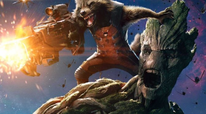 Groot and Rocket Raccoon are Headed to the ISS