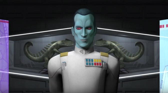 Star Wars Rebels Season 3 Confirms the Return of Thrawn