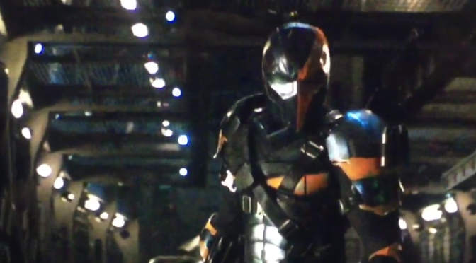 Ben Affleck Tweets Video of Someone Dressed Like Deathstroke?