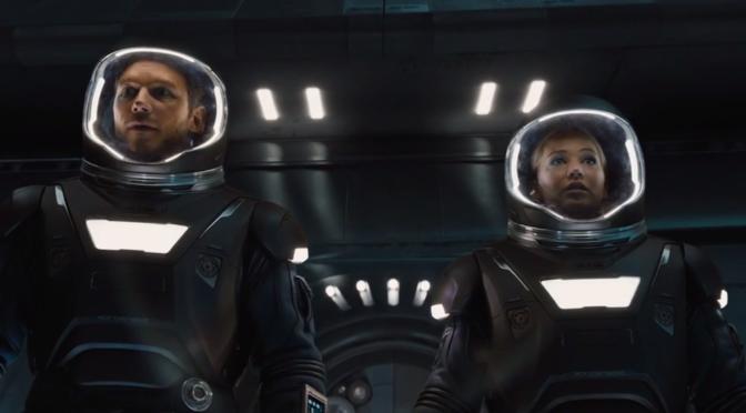 Chris Pratt and Jennifer Lawrence's 'Passengers' Trailer is Here