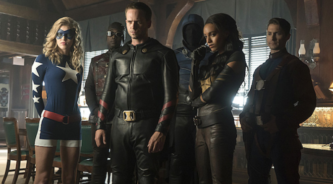 Legends of Tomorrow Previews the Justice Society of America