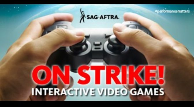 Video Game Voice Actors are Officially on Strike