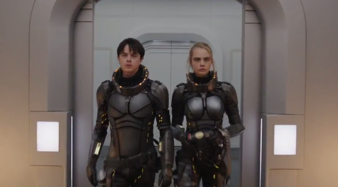 The First Trailer for 'Valerian and the City of a Thousand Planets' is Here