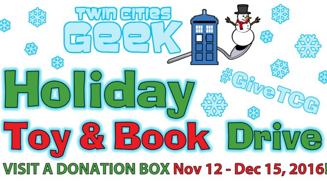 'Twin Cities Geek' Is Running a Grassroots Holiday Toy and Book Drive
