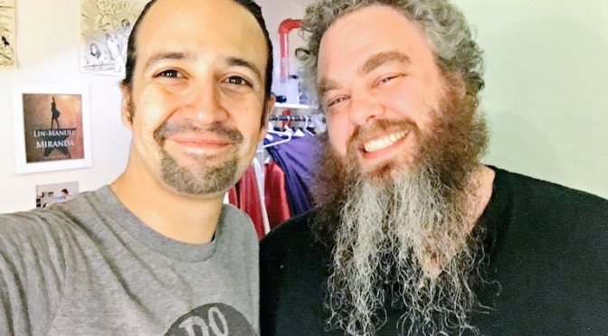 Lin Manuel Miranda Will Produce Screen Adaptation of Patrick Rothfuss's 'Kingkiller Chronicle'