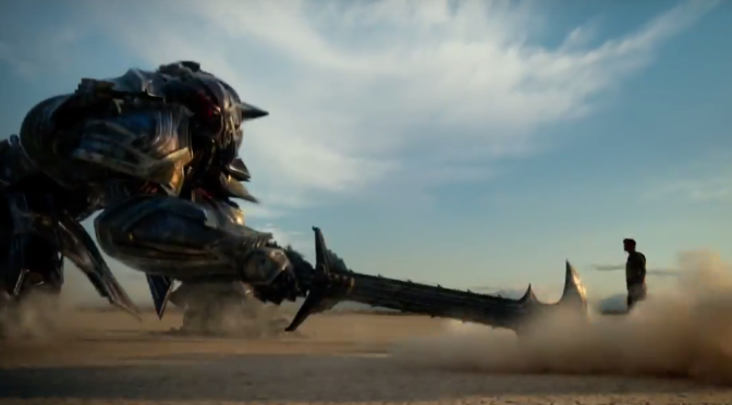The First Trailer For 'Transformers: The Last Knight' Is Unsurprising