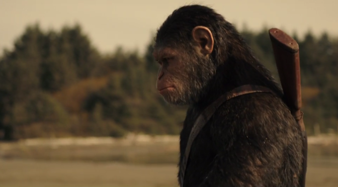 The 'War for the Planet of the Apes' Trailer Sure is Planet of the Apes-y